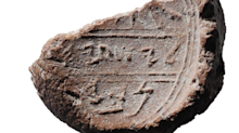 Huge Bible discovery as archaeologists unearth signature of prophet Isaiah