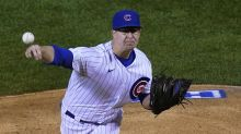 Mills sharp, Bote has 2 RBIs as Cubs beat Reds 3-0