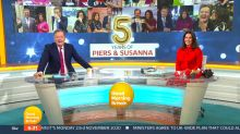 Piers Morgan and Susanna Reid celebrate five years presenting 'Good Morning Britain'