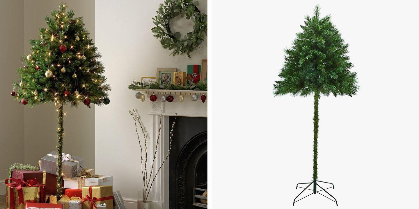 Half Christmas Trees Are Here to Stop Pets From Sabotaging Christmas