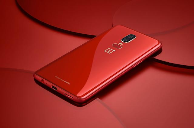 OnePlus 6 now comes in red