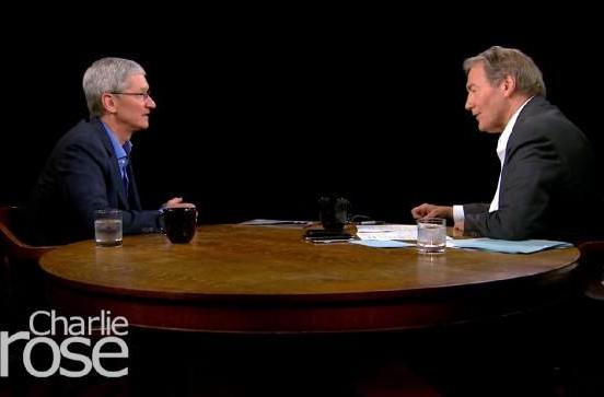 Apple CEO Tim Cook talks to Charlie Rose about TV and why he bought Beats