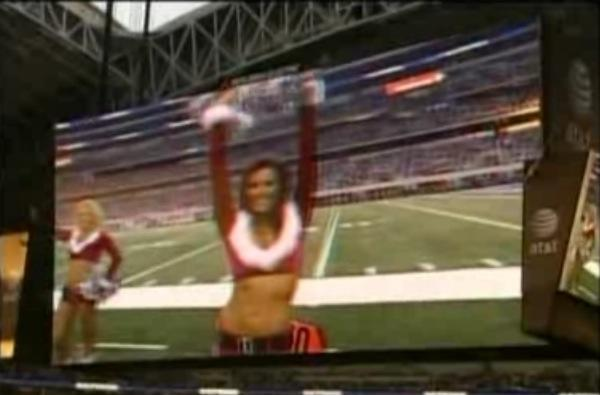 Cowboys Stadium 3D scoreboard experiment doesn't go so well, turned off in less than seven minutes
