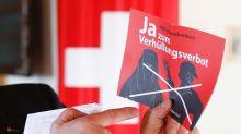 Volksabstimmung: Schweizer beschließen Verhüllungsverbot
