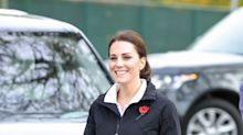 Kate Middleton wears tracksuit to play tennis with kids