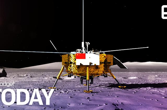 China's Chang'e-4 touches down on the far side of the moon (update: first pics)