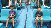 Taipei surpreende passageiros de metrô com cenário realista de modalidades esportivas