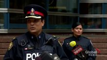 Toronto police say 6 people shot outside bakery were not there as group, calls shooting isolated but brazen