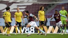 Aston Villa move out of the Premier League relegation zone with win over Arsenal