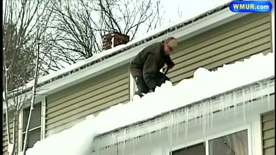 Granite Staters clean up from storm