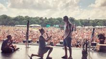 Woman 'Smashes the Patriarchy' by Proposing to Boyfriend Onstage at Firefly Festival