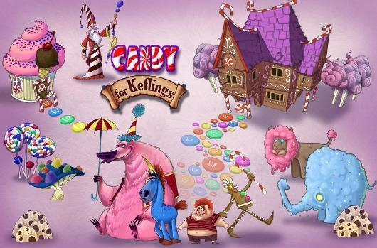 A World of Keflings can't decide: Candy, pirates or graveyard DLC