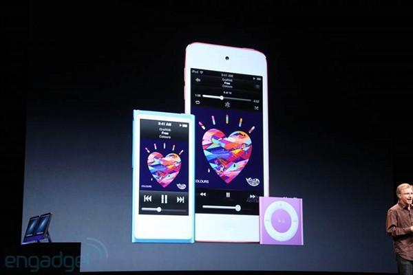 iPod shuffle updated with much-needed new hues
