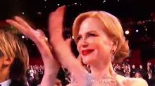 Nicole Kidman reveals reason behind her 'seal clapping' at the Oscars