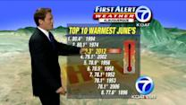 Eric's Morning Forecast: June 25, 2012