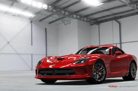 2013 SRT Viper pulls into Forza 4's garage this summer