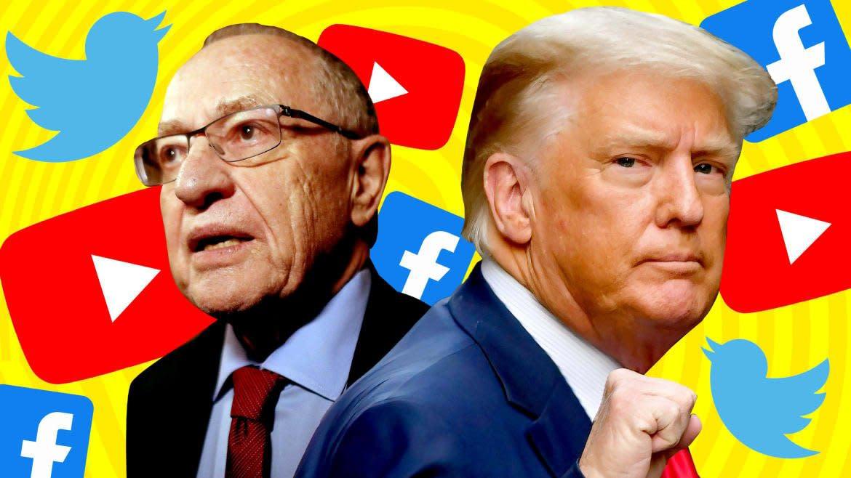 Even Dershowitz Took a Pass on Trump's Big Tech Suit
