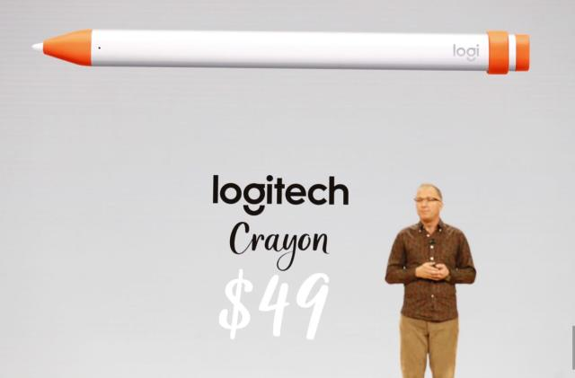 Logitech built a $49 digital crayon for the new iPad