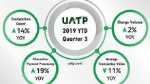 UATP Announces 2019 Third Quarter Results