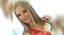 Jovem que foi rainha de festa catarinense morre em acidente de moto
