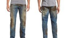 Nordstrom is selling fake mud jeans for the unbelievably low price of $425