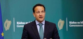 Woman throws drink at Irish minister Leo Varadkar