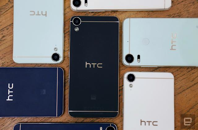 HTC's Desire 10 phones make midrange power feel more premium