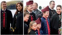 Princess Mary's adorable family tour in traditional costume