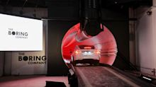 Elon Musk unveils landmark tunnel in Los Angeles in bid to eliminate city traffic