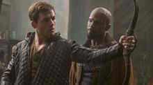 Taron Egerton says 'racial tension' between Robin and John was 'lost' from final cut of 'Robin Hood' (exclusive)