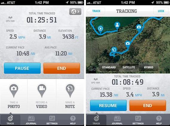 Columbia's GPS Pal app for Android and iOS logs your hikes, geotags memories (video)