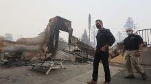 Winds intensifying as firefighters battle fire in California