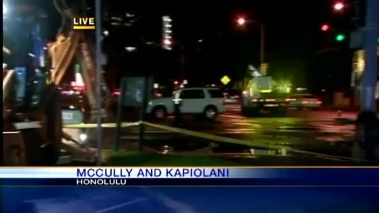 McCully water main break causes problems for residents, business owners