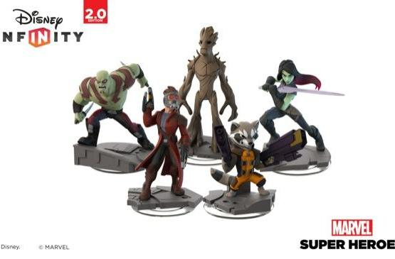 Guardians of the Galaxy converge in Disney Infinity 2.0