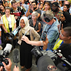 Ilhan Omar Welcomed Home