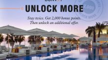 """""""Unlock More"""" Earning Opportunities with Marriott Bonvoy's Last Global Points Promotion of 2019"""