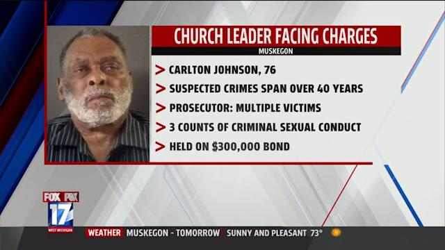 Church Leader Accused Of Sex Crimes Spanning 40 Years