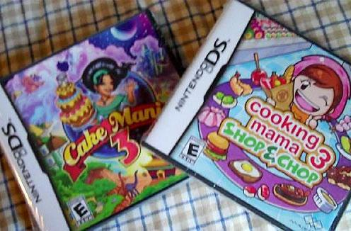 Joyswag: Cooking Mama 3 and Cake Mania 3 (DS) [update]