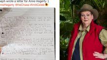 'Im a Celeb': Autistic boy pens heartfelt letter to Anne Hegerty