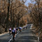 Tour Down Under sponsor Santos and riders raise funds for Australian bushfire recovery efforts