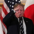 Trump says not disturbed that North Korea has 'fired off some small weapons'