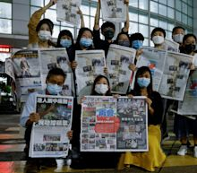 Hong Kong's pro-democracy Apple Daily newspaper publishes final edition after Beijing crackdown