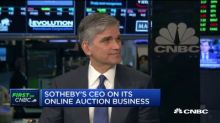 Future looks bright in online bidding, says Sotheby's CEO