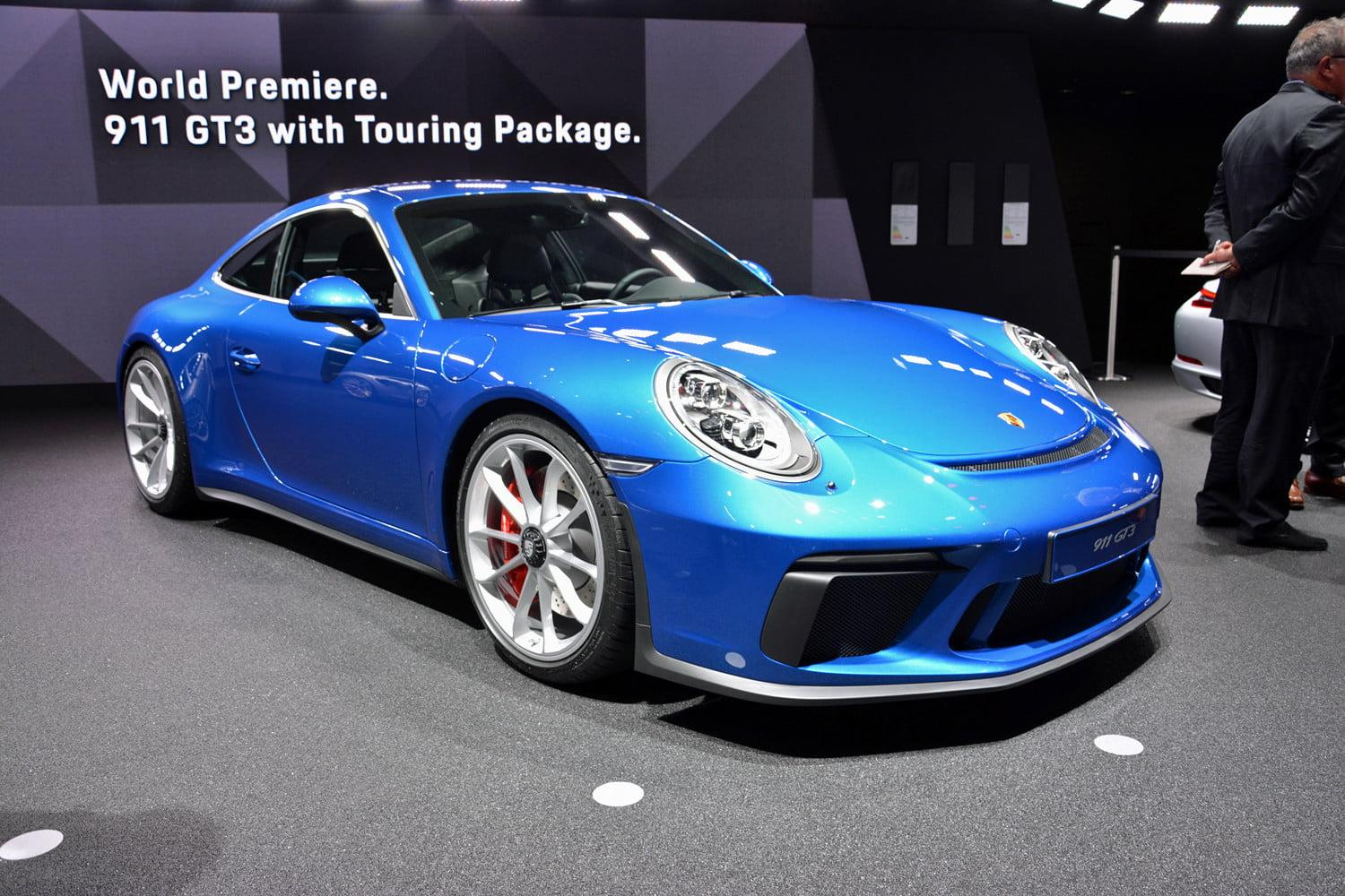 porsche s new 911 gt3 touring is all the fierce with less of the flash. Black Bedroom Furniture Sets. Home Design Ideas