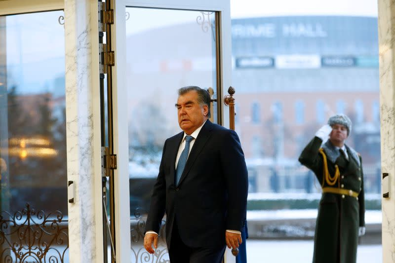 Tajikistan set to elect parliament loyal to strongman leader