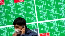 Asian stocks pull back as Hong Kong uncertainty weighs
