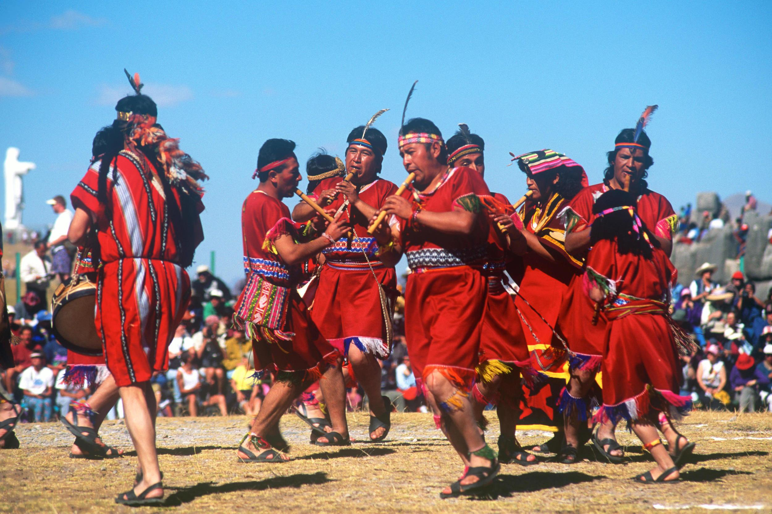 """Peru's Inca capital Cusco hosts the historic festival of Inti Raymi or '<a href=""""http://www.lonelyplanet.com/peru/cuzco/travel-tips-and-articles/77190"""" target=""""_blank"""">Festival of the Sun</a>' on June 24 each year at the fortress Sacsayhuamán. Historically the locals would gather on the winter solstice to honour the sun god Inti and the ceremony still takes place with a simulated lama sacrifice as a tribute to the Inca. In the modern day it's one of the largest festivals in South America and hundreds of thousands of people travel from all over the world to join in the week-long celebrations. <strong>Try this:</strong> Opt for a homestay to experience life like a local. <a href=""""http://www.homestay.com/peru/cusco/71526-homestay-in-santiago-frente-al-nuevo-hospital-anotnio-lorena-cusco"""" target=""""_blank"""">Homestay.com</a> host Felice's house is bright, colourful and her husband is a tour guide. Stays start from £19 per night."""