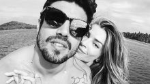 """Caio ironiza foto sem aliança e boato de término com Grazi: """"Paciência"""""""