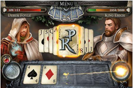 Daily iPhone App: Poker Knight combines poker hands with an RPG