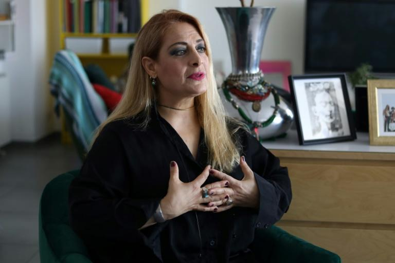 Singer Alexia Vassiliou, who fled her home in northeastern Famagusta during the 1974 Turkish invasion of Cyprus, uses her voice to highlight the plight of refugees worldwide